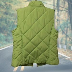 Saint John's Bay Active Jackets & Coats - Full Zipper Front Quilted Vest Activewear Pockets